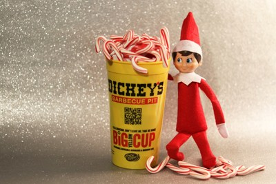Enter to win delicious prizes with Dickey's Big Yellow Cup Holiday Contest!