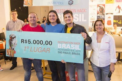 Winners Destination Hack Brasil 2015