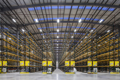 The recently-opened 56,000 square metre (600,000 square feet) Travis Perkins distribution centre near Warrington, UK, boasts low-energy, long-life LED lighting. A special conference on Lighting for Logistics and Warehouses takes plac...<br /><br />Source : <a href=