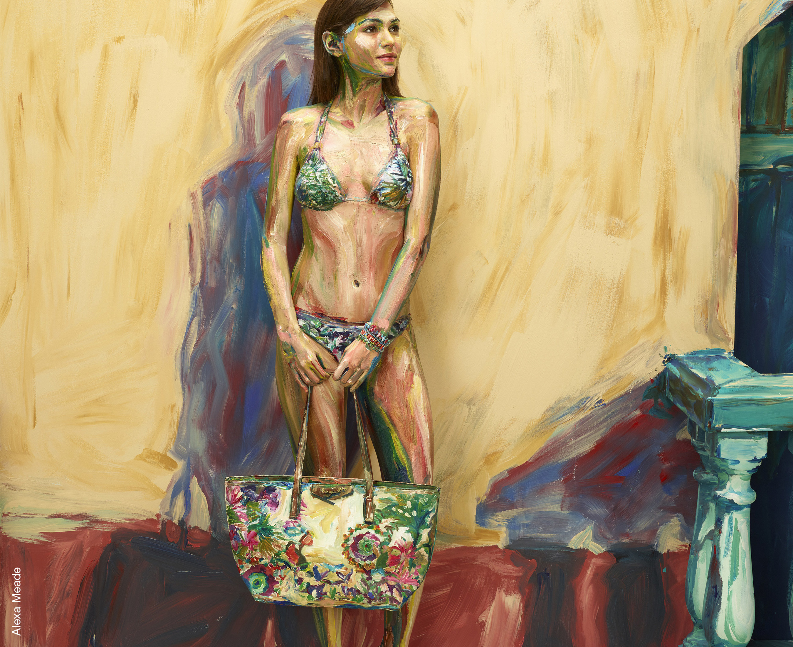 Desigual And Artist Alexa Meade Challenge Our Senses To Celebrate World Art Day, Today April 15th