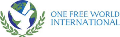 One Free World International Logo.  (PRNewsFoto/One Free World International)