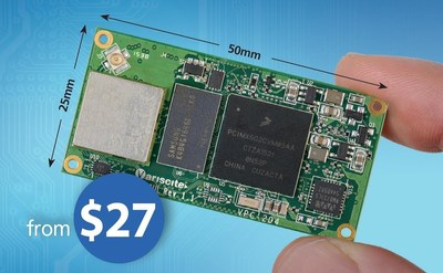 Starting from only 27USD, Variscite's DART-6UL is a highly optimized cost/performance System-on-Module,based on Freescale i.MX 6UltraLight 528MHz Cortex A7 (PRNewsFoto/Variscite) (PRNewsFoto/Variscite)