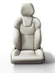 Volvo XC90 front seat. (PRNewsFoto/Johnson Controls)