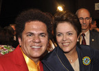 Brazilian President asks artist Romero Britto to do R$9.4 billion project.  (PRNewsFoto/Britto Central, Inc., Gustavo Rampini)