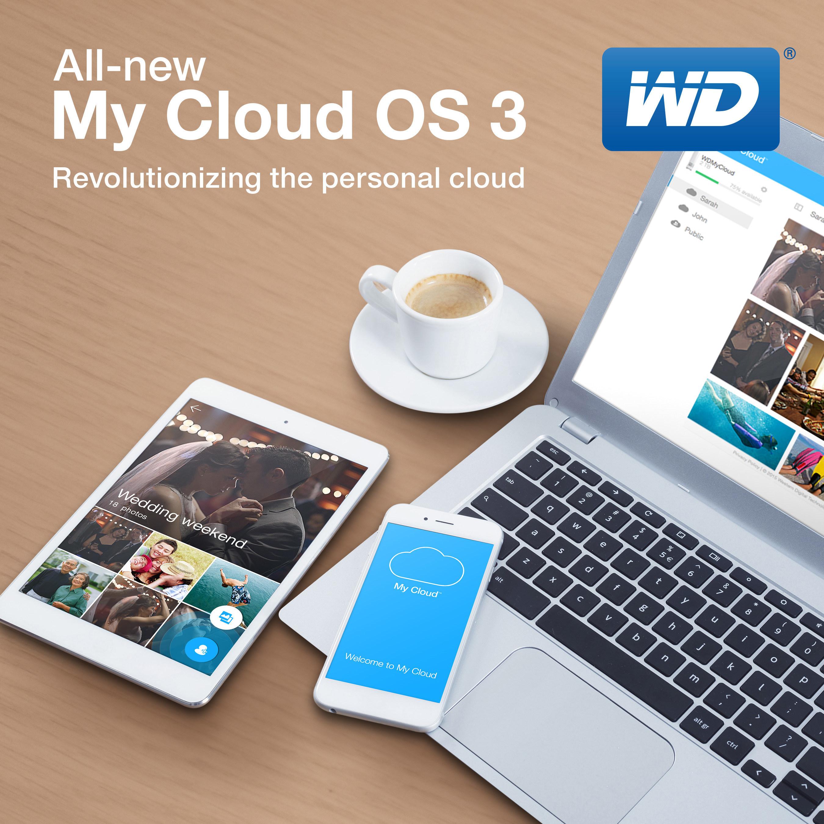 Cloudová Úložiště WD Jsou Nyní Ještě Více Osobní (a Více Soukromá)