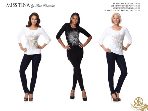Miss Tina by Tina Knowles.  (PRNewsFoto/Beyond Productions LLC)