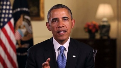 President Obama Praises Work of 100Kin10 Partners. (PRNewsFoto/100Kin10)