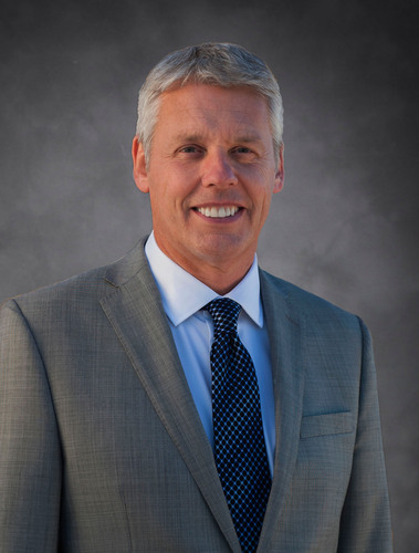 LoJack Director Phil Horlock, CEO Blue Bird Corporation.  (PRNewsFoto/LoJack Corporation)
