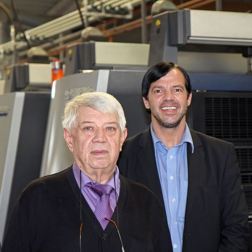 30 years of printing experience combined with ten years of success in e-commerce: Company founder Erwin Meyer ...