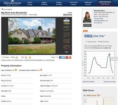 Windermere Real Estate and INRIX Partner to Help Home Buyers Find Properties with the Actual Drive Times