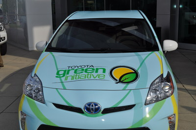 Toyota will give leased Prius lift backs to State Farm Magic City Classic rivals Alabama A&M University and Alabama State University as a part of the fifth anniversary celebration of the Toyota Green Initiative.