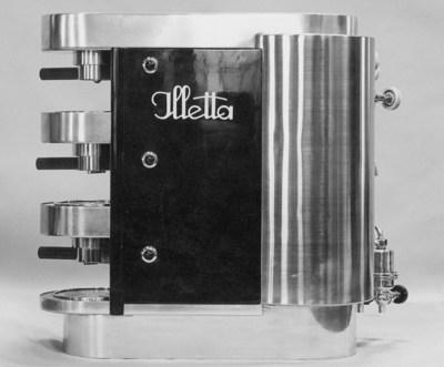 The Illetta, the world's first automatic espresso coffee machine.