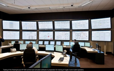 The training simulator at the Vogtle nuclear expansion near Waynesboro.