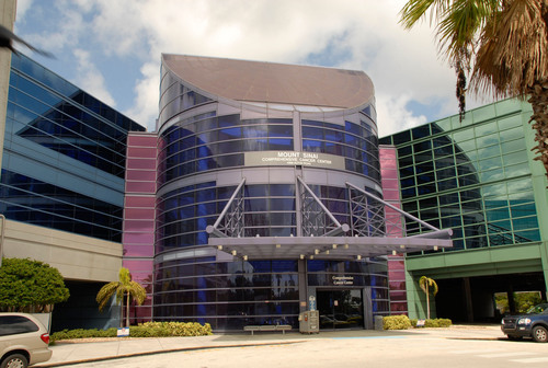 The Mount Sinai Comprehensive Cancer Center in Miami Beach, Florida is the only Florida hospital to win the ...
