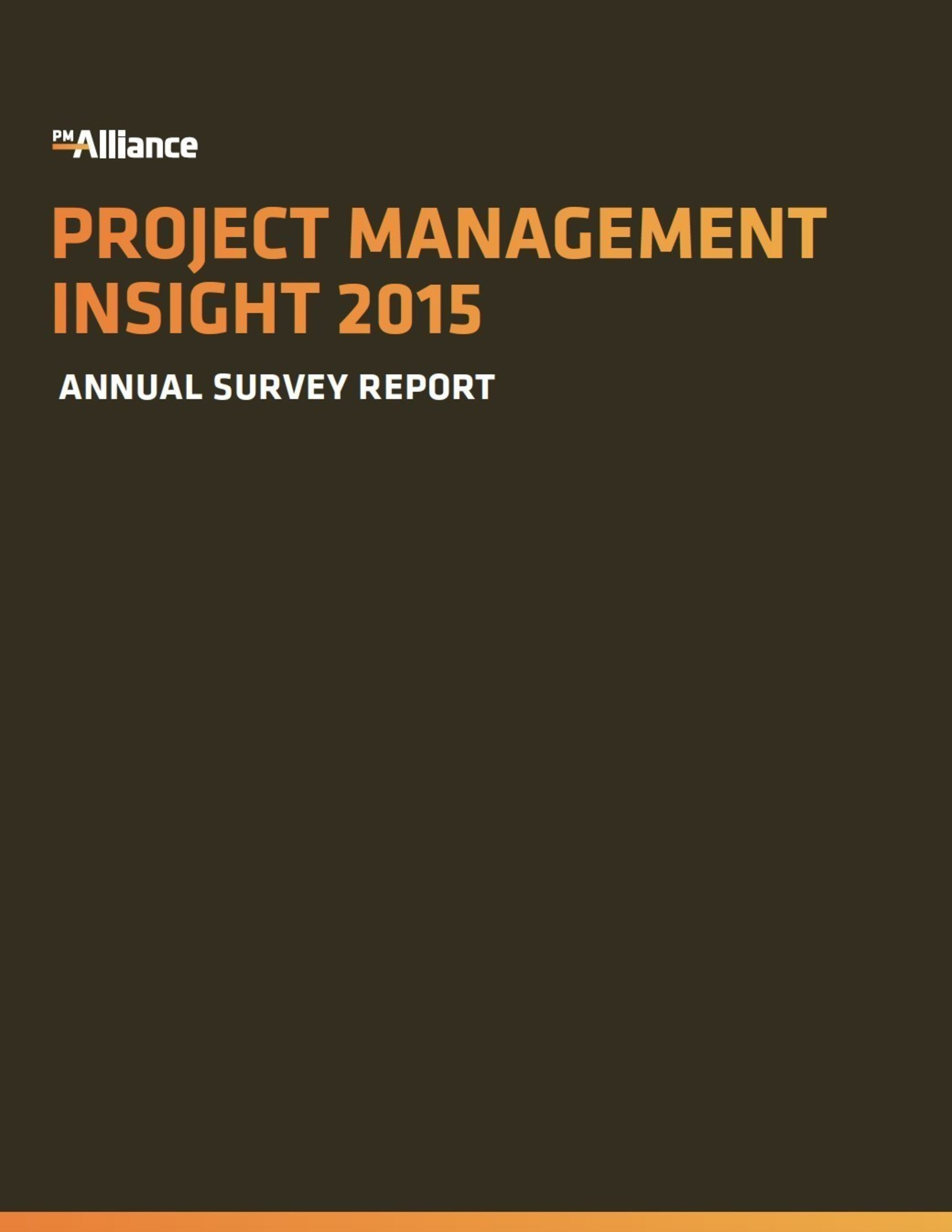 """Project Management Insight 2015"""