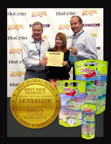 Chilis Margaritas Best New Product Award. (PRNewsFoto/Cocktail Crafters LLC) (PRNewsFoto/COCKTAIL CRAFTERS LLC)