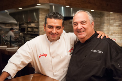 Carrabba's Italian Grill featured on TLC's Next Great Baker. Watch the sweet drama unfold as Carrabba's founder Damian Mandola judges the bakers alongside Buddy Valastro on Monday, January 14th at 9/8c.  (PRNewsFoto/Carrabba's Italian Grill)