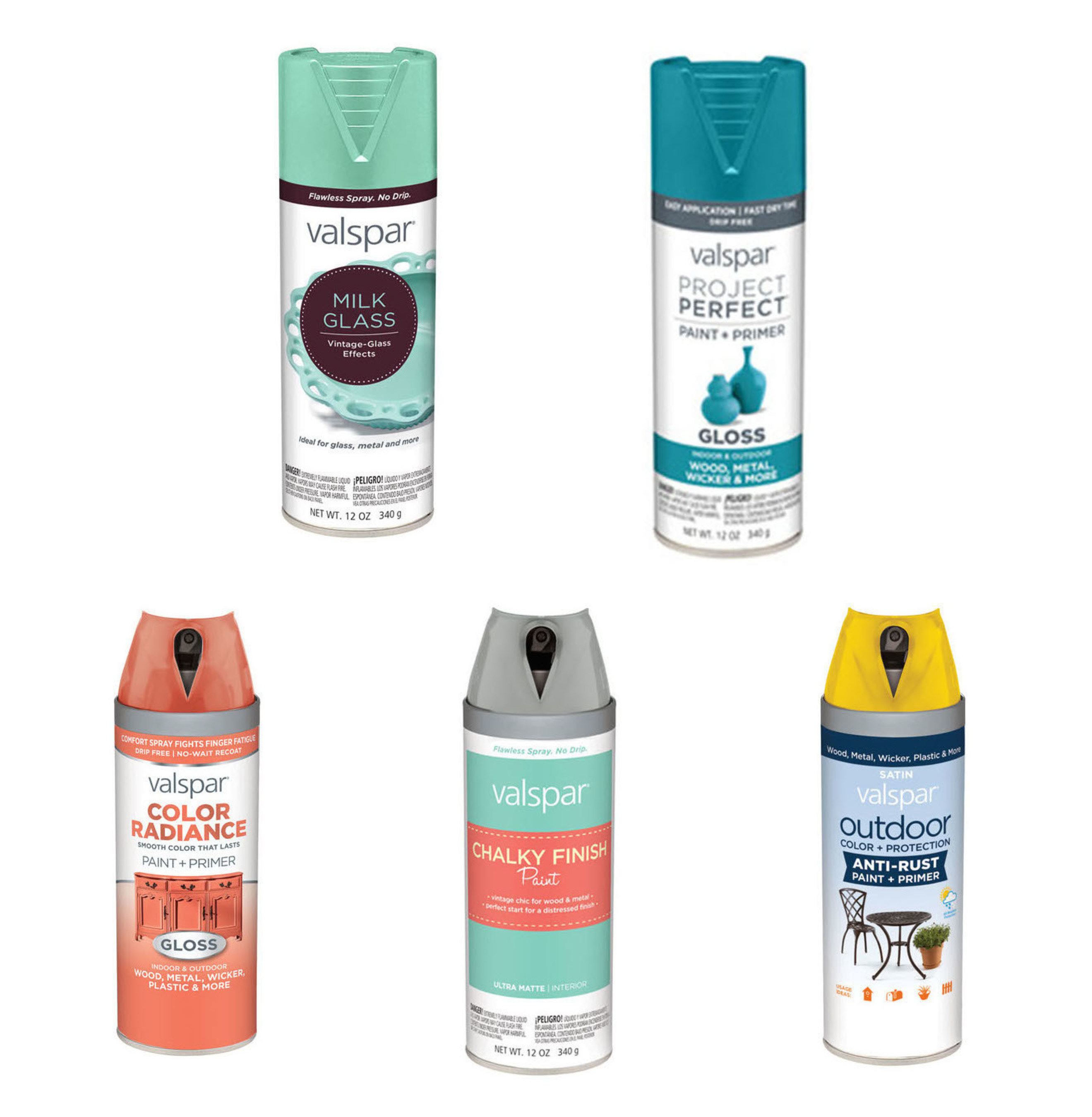 Valspar expands spray paint offering at Lowe's with decorative finishes and more.