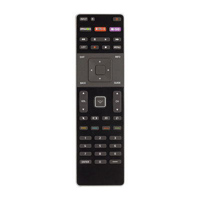 Unique M-GO Button on VIZIO Remotes Makes Getting Freshest New Release Movies and TV Shows On-Demand Easier Than Ever.  (PRNewsFoto/M-GO)