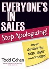 New Sales Training Book From Keynote Speaker Todd Cohen: