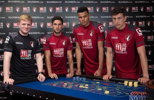 AFC Bournemouth unveil Mansion Group as Premier League shirt sponsor (PRNewsFoto/Mansion Group) (PRNewsFoto/Mansion Group)
