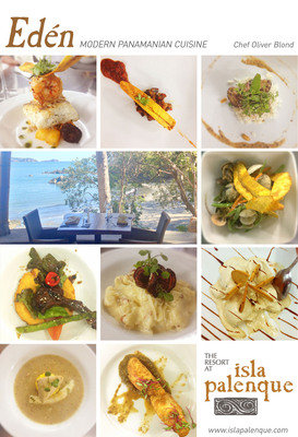 Eden Modern Panamanian Cuisine.  (PRNewsFoto/The Resort at Isla Palenque)