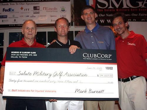 ClubCorp's Members Donate More Than $68,000 to PGA of America-Inspired Veteran Programs