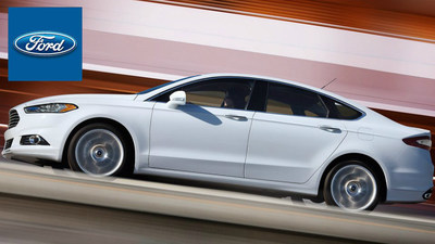 The 2015 Ford Fusion at Toliver Ford (PRNewsFoto/Toliver Ford)