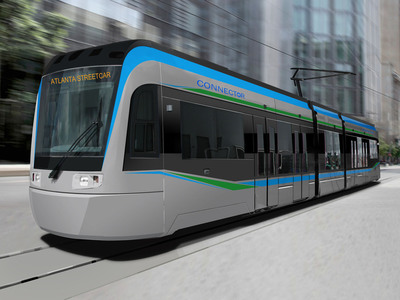 Siemens will build four new streetcars for the City of Atlanta at its U.S. manufacturing facilities in Sacramento and Alpharetta.  (PRNewsFoto/Siemens Industry, Inc.)