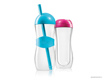 Travel in style with the NEW bobble hot and bobble iced containers. Available at waterbobble.com.  (PRNewsFoto/bobble)