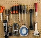 National Hardware Peg & Storage Garage/Workshop Kit (MSRP $9.49)