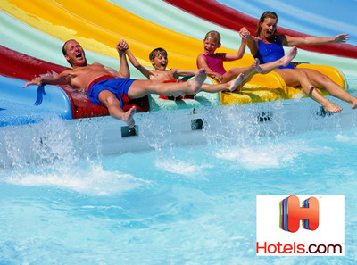 From Cortland, New York to Jamaica, Hotels.com can find the perfect hotel with an on-site water park for any age group.  (PRNewsFoto/Hotels.com)