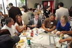 Participants in the June 6 GRIP Community Design Workshop sharing ideas for new WRD advanced water treatment facility in Pico Rivera, CA.
