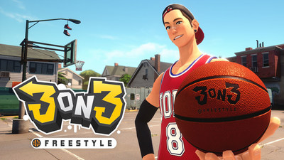 """3on3 Freestyle is a fast-paced, arcade-style """"street"""" basketball4 game exclusively for PS"""