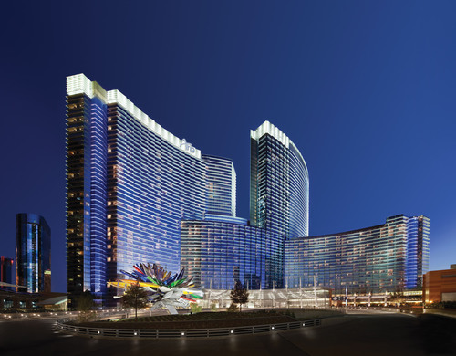 ARIA Resort & Casino in Las Vegas. (PRNewsFoto/ARIA Resort & Casino) (PRNewsFoto/ARIA RESORT _ CASINO)