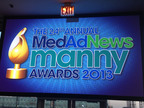 Med Ad News Manny Awards 2013 - Pier Sixty, New York, NY - April 25, 2013.  (PRNewsFoto/UBM Canon)