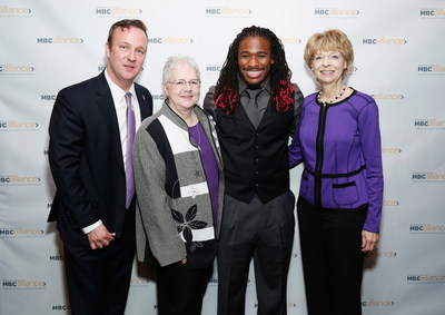 DeAngelo Williams joins the Metastatic Breast Cancer Alliance's efforts