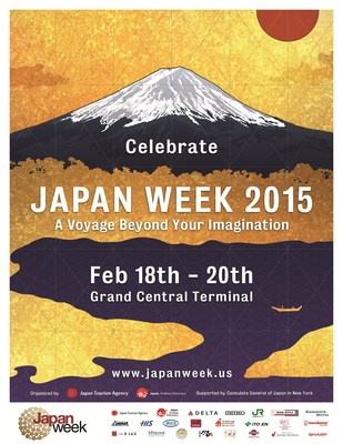 Japan Week comes to Grand Central Terminal! Meet Tourism Experts & Discover New Destinations on Feb 18-20. For more, visit JapanWeek.US.