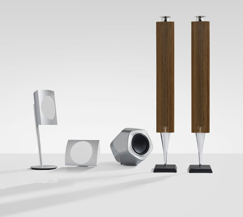 Bang & Olufsen Introduces Breakthrough in Wireless Sound with Three New Design Icons. (PRNewsFoto/Bang & ...