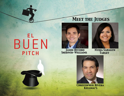 Senior Hispanic Marketing Executives from Target, Kellogg's and Sherwin-Williams to judge Hispanicize 2013 'El Buen Pitch' competition.  (PRNewsFoto/Hispanicize 2013)