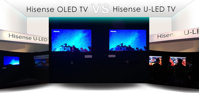 Hisense CES Releases Next Generation ULED TV to Compete with OLED TV. (PRNewsFoto/Hisense Group) (PRNewsFoto/HISENSE GROUP)