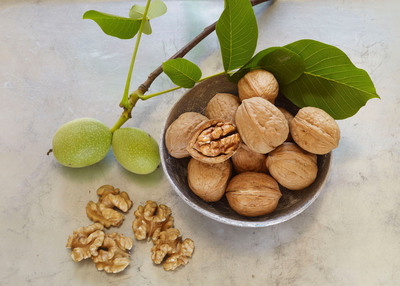 Walnuts are part of a healthy diet. Over two decades of research has shown walnuts offer benefits in the areas of heart health, cognitive function, cancer, diabetes, and weight management. For more information visit: www.walnuts.org.  (PRNewsFoto/California Walnut Commission)