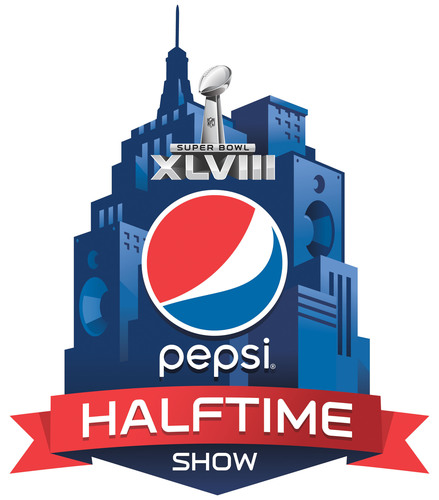 Pepsi Super Bowl XLVIII Halftime Show logo.  (PRNewsFoto/PepsiCo)