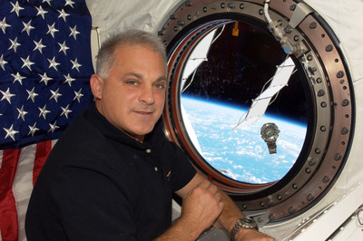 Dr. Wolf has loaned several personal artifacts to the world's largest children's museum that he had with him in space.