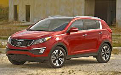 "Sporty design and fantastic new features propel the 2013 Kia Sportage to the front line of yet another award for Kia as a ""Best Bet by the Car Book.""  (PRNewsFoto/Bill Jacobs Kia)"