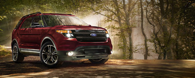 The iconic 2015 Ford Explorer has now arrived at Loganville Ford! Schedule a test drive today! (PRNewsFoto/Loganville Ford)