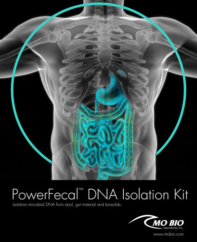 MO BIO Laboratories launches the PowerFecal DNA Isolation Kit.  (PRNewsFoto/MO BIO Laboratories, Inc.)