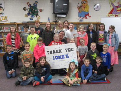 lowe's toolbox for education announces $2.3 million in grants to ...