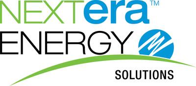 NextEra Energy Solutions logo.  (PRNewsFoto/NextEra Energy, Inc.)