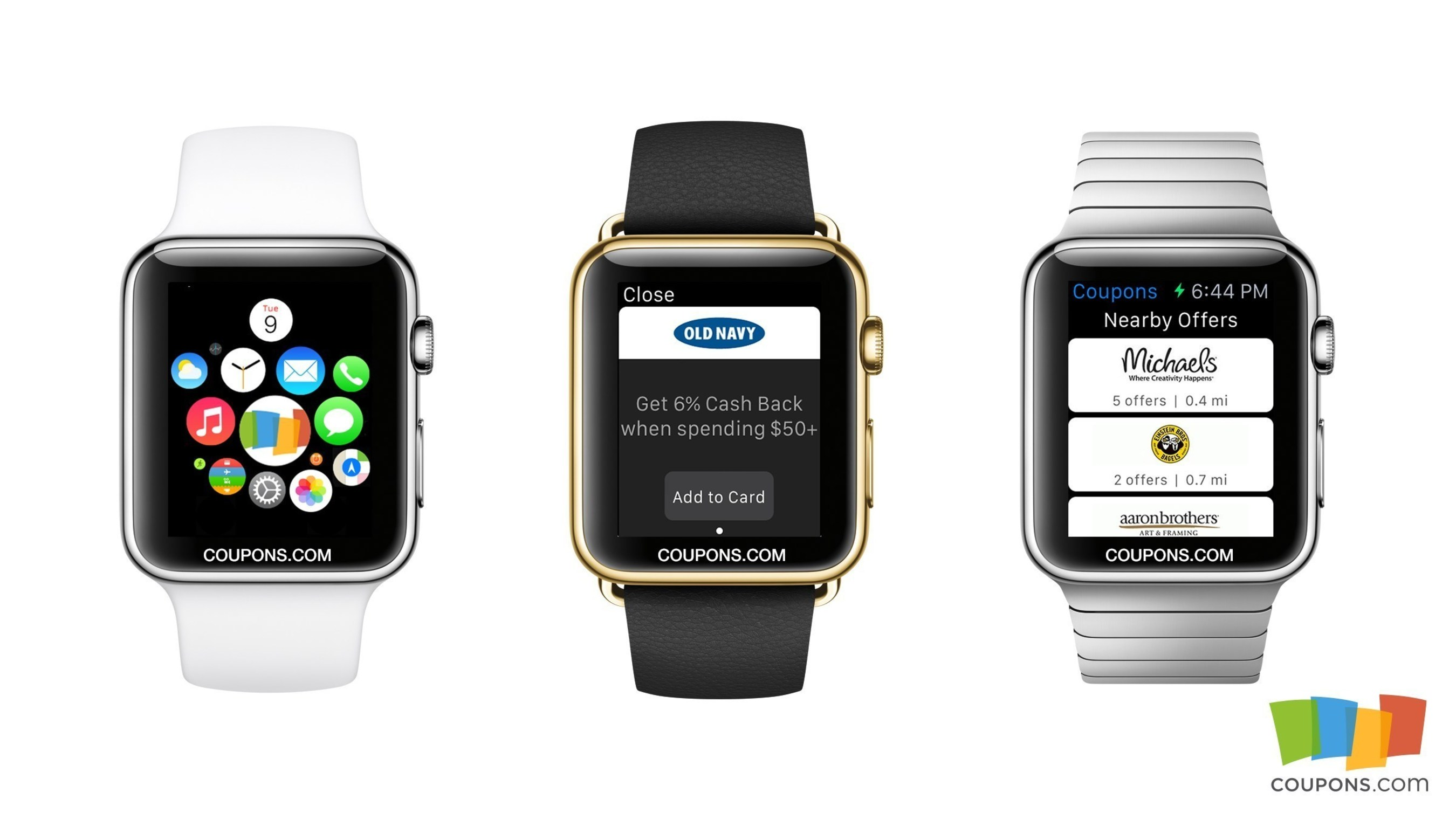 Coupons apple watch